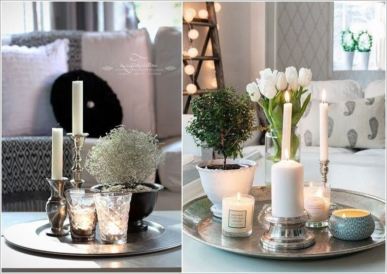 10 awesome coffee table centerpiece ideas for Coffee table centerpiece