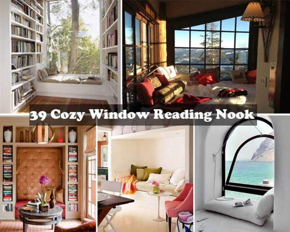 Window Nook Ideas 15 cozy and charming window nooks ideas for reading