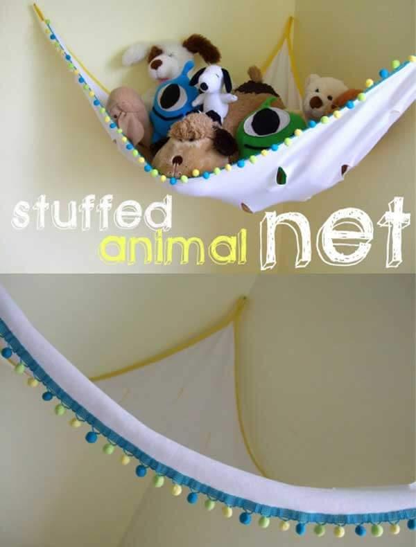 Stuffed animal net.