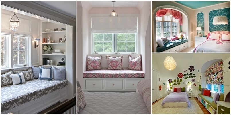 10 ways to dress the window of your window seat for Window you can sit in