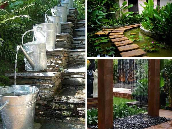16 impressive diy backyard ponds ideas for Diy patio pond