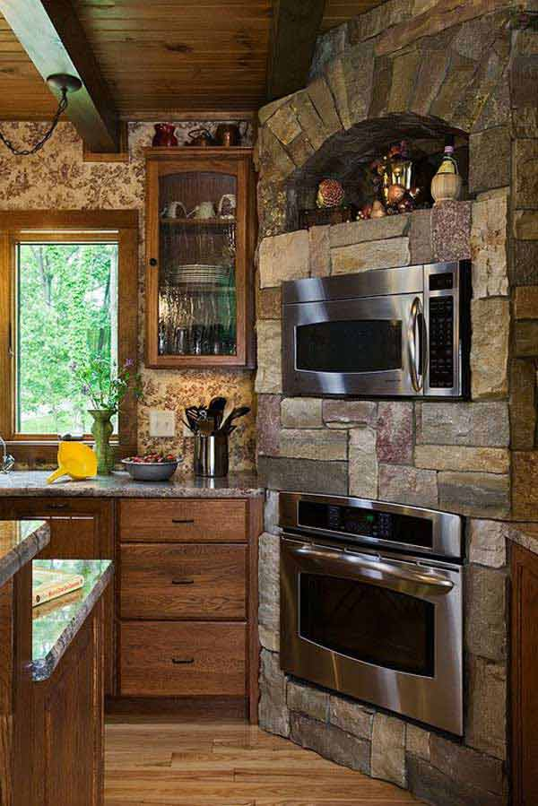 16 Smart Stone Ideas That Bring Natural, Cozy Feel In The