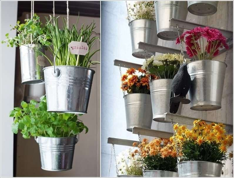 دکوراسیون داخلی خلاقانه،گلدان خلاقانه