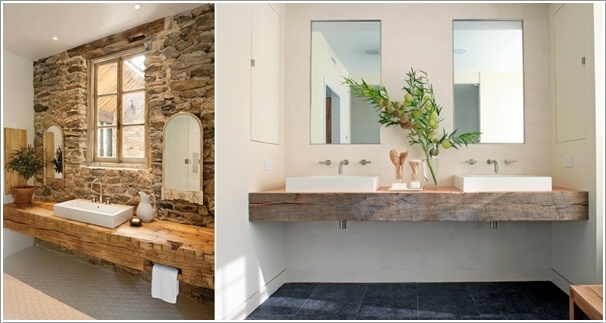 12 amazing recycled material bathroom vanity ideas for Riciclo arredo