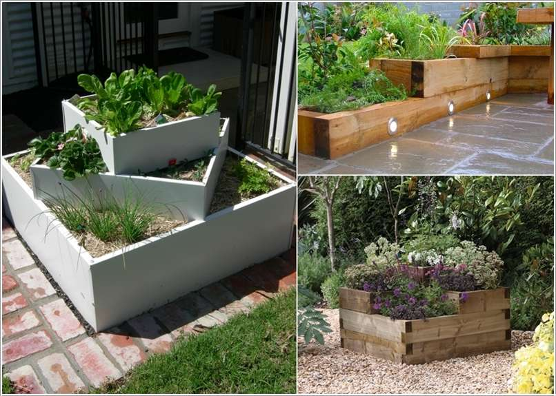 12  15 Stylish Raised Bed Ideas for No Grass Outdoor Areas 1226