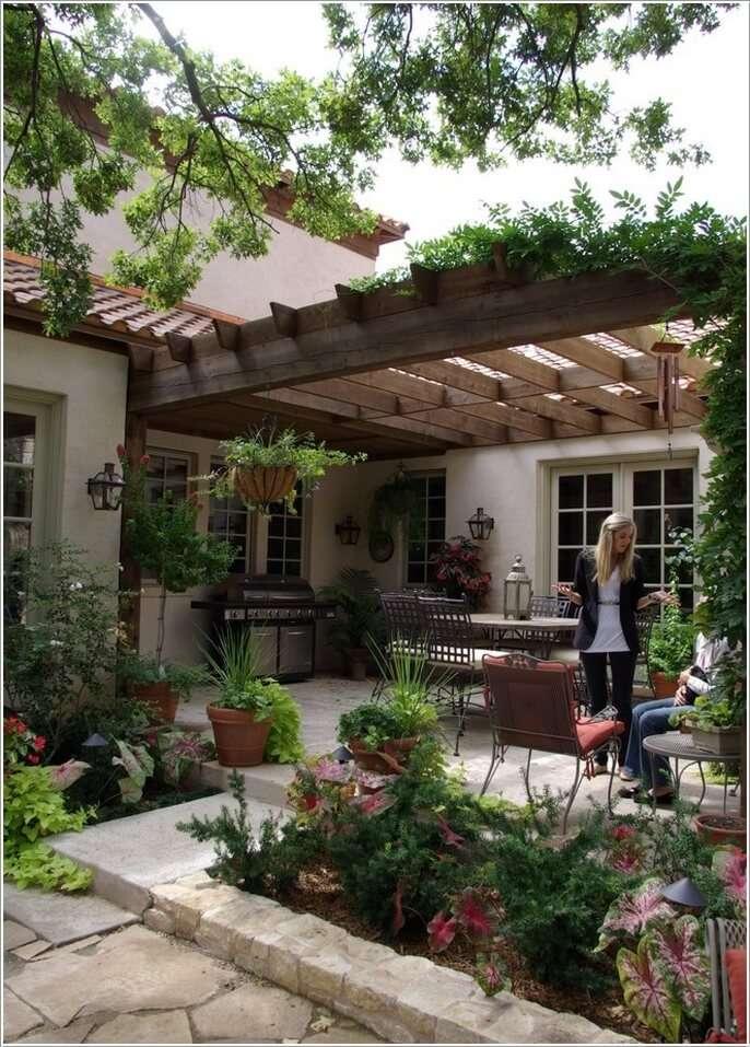 دکوراسیون باغ،مبلمان باغ