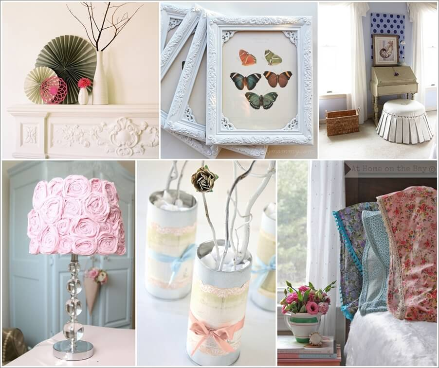 Diy Home Decor Projects: 10 Stunning DIY Shabby Chic Home Decor Projects