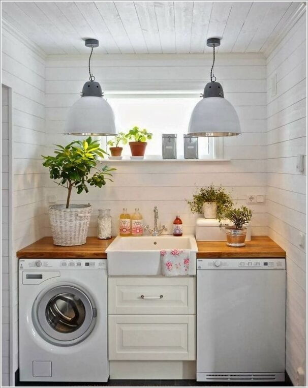 13 Amazing Laundry Room Sink Designs That Will Bring Style