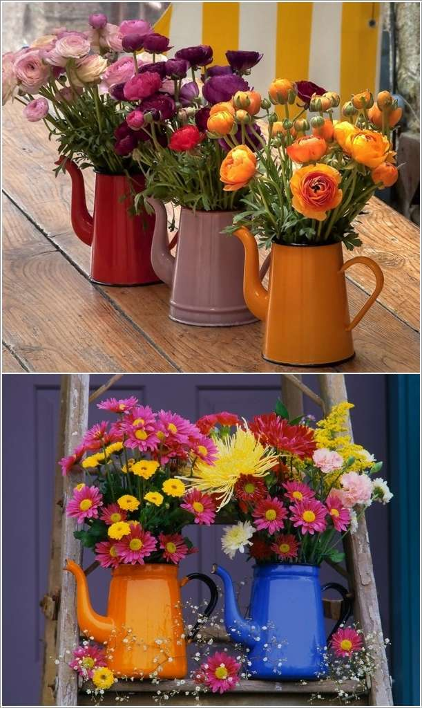 1  12 Beauteous Recycled Flower Vase Ideas 177