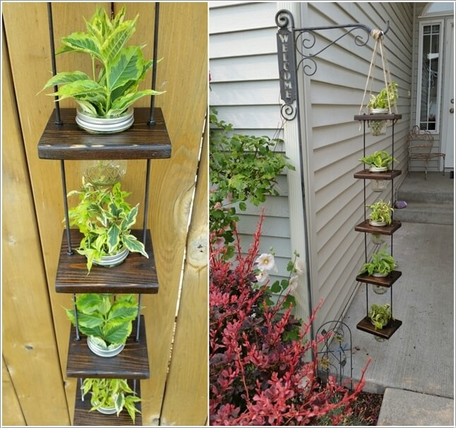 Beautiful Vertical Garden Ideas: 10 Beautiful Hanging Vertical Garden Ideas