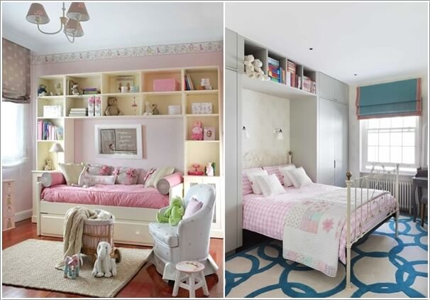 12 clever small kids room storage ideas - Toddler bedroom ideas for small rooms ...