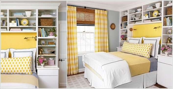Perfect Built In Bookcases Around Bed Better Homes And Gardens October 2013