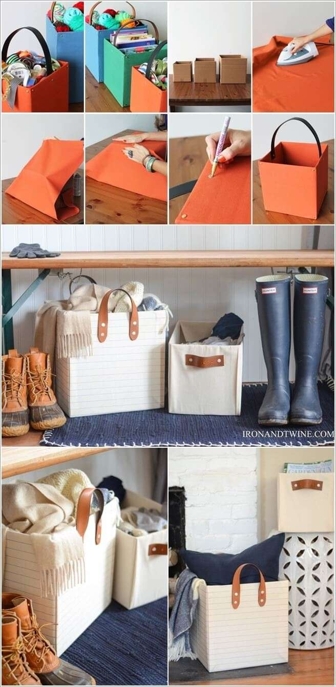 3  15 Awesome DIY Storage Bins for You to Make 321