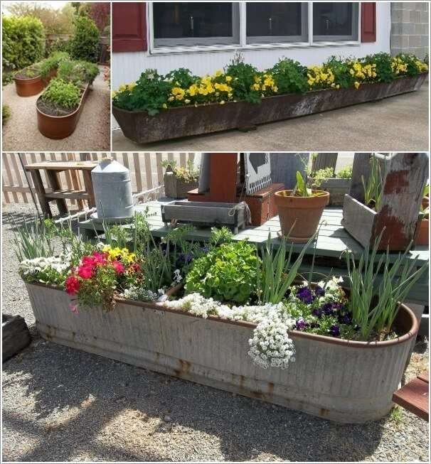 13 Cool Long Planter Ideas For Keen Gardeners
