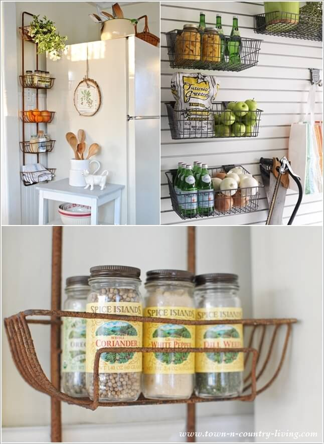 15 Amazing Kitchen Wall Storage Solutions