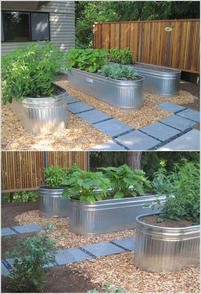 4  15 Stylish Raised Bed Ideas for No Grass Outdoor Areas 432