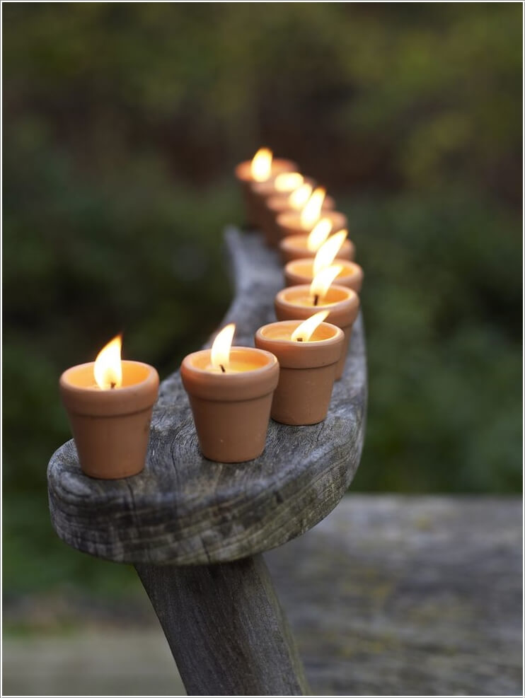 10 cool mini terracotta pot decor projects for Small clay flower pots