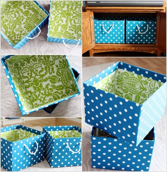 5  15 Awesome DIY Storage Bins for You to Make 522