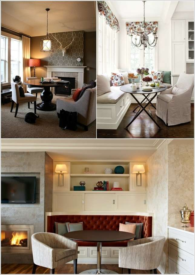 Dining Room 5. 12 Amazing Alternatives to a Formal Dining Room