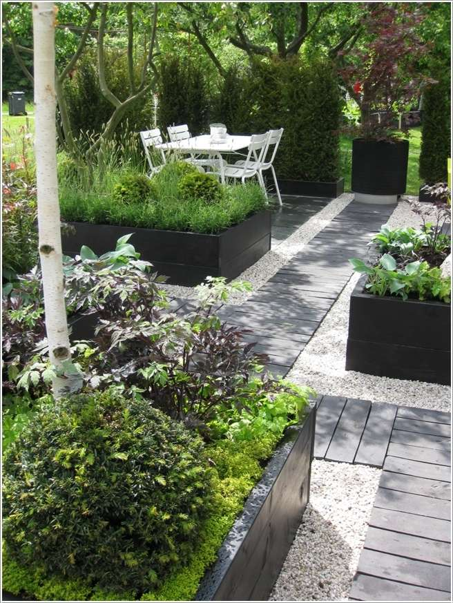 5  15 Stylish Raised Bed Ideas for No Grass Outdoor Areas 533