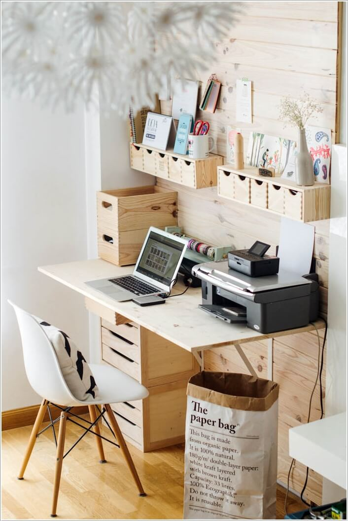 10 diy home office desks for your inspiration Diy home office desk plans