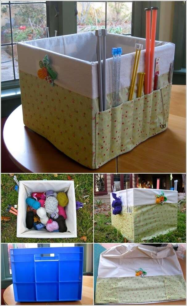 6  15 Awesome DIY Storage Bins for You to Make 622