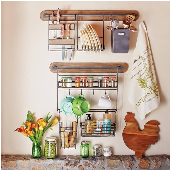 7  15 Amazing Kitchen Wall Storage Solutions 76