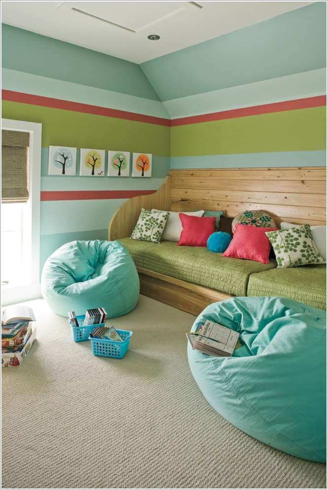 13 cool floor seating ideas you will surely love for Playroom floor ideas