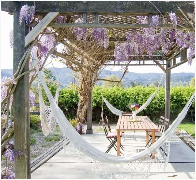 8  13 Things to Hang From a Pergola to Beautify It 821