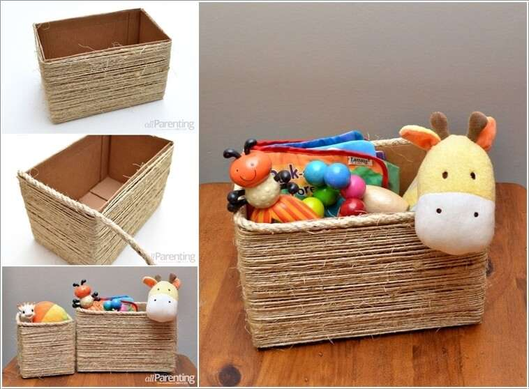 8  15 Awesome DIY Storage Bins for You to Make 822