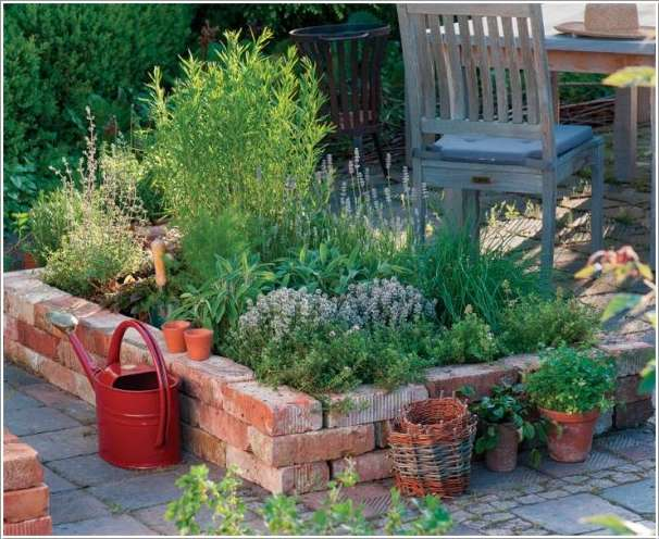 8  15 Stylish Raised Bed Ideas for No Grass Outdoor Areas 833