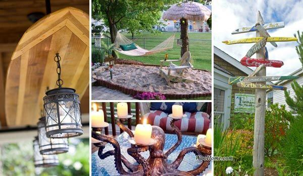 15 Awesome Beach Style Outdoor Diy Ideas For Your Porch Amp Yard