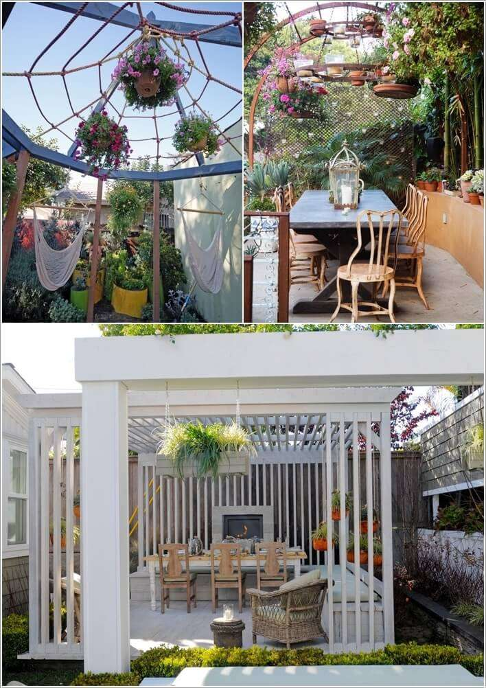 9  13 Things to Hang From a Pergola to Beautify It 920