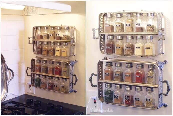 9  15 Amazing Kitchen Wall Storage Solutions 96