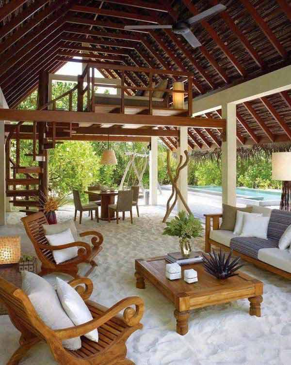 15 Awesome Beach-Style Outdoor DIY Ideas For Your Porch & Yard on Backyard Beach Landscape Design id=29408