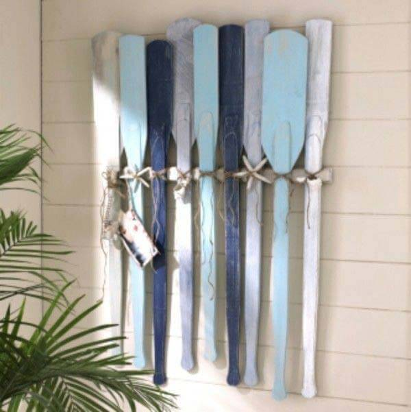 Diy Exterior Wall Decor : Awesome beach style outdoor diy ideas for your porch yard