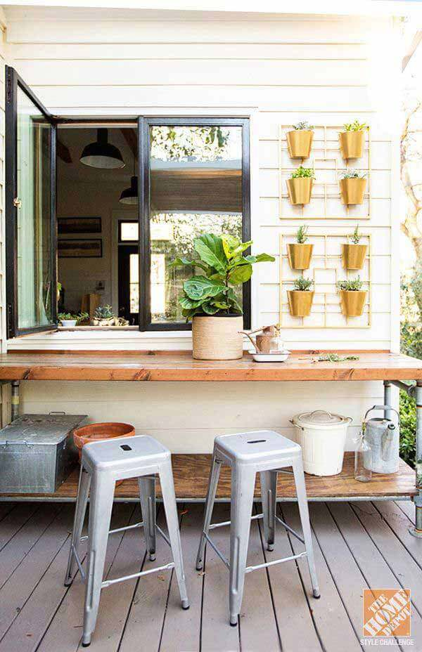 10 brilliant kitchen window bar design you would love to own