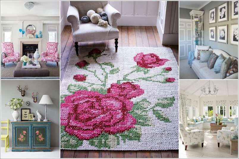 10 Ways To Design Your Living Room With Floral Inspiration