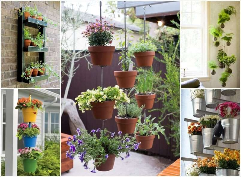 Hanging Garden Ideas 21 most attractive diy hanging garden ideas to break the monotony in every space 10 Beautiful Hanging Vertical Garden Ideas