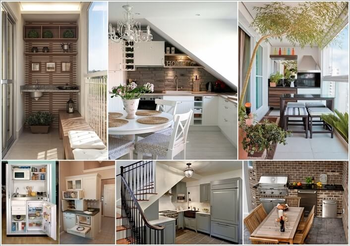 10 Places Where You Can Set Up a Small Kitchen