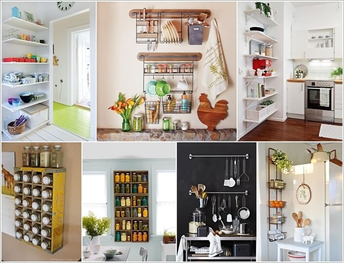 a  15 Amazing Kitchen Wall Storage Solutions a6