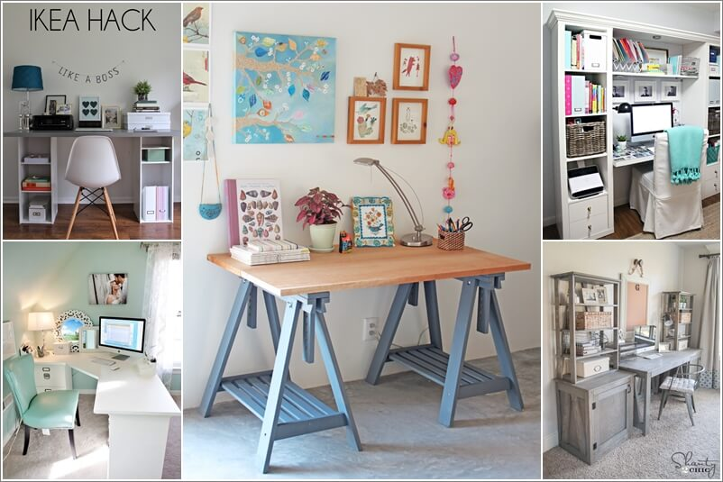 10 diy home office desks for your inspiration