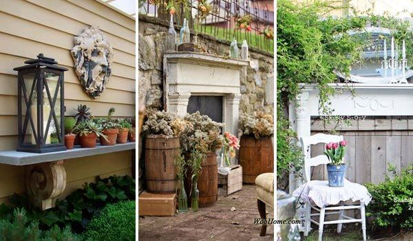 15 Interesting Ways To Decorate Your Outdoor Space With Mantel