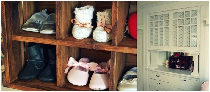 10  10 Cool Baby Shoe Storage Ideas for Your Baby's Nursery 10