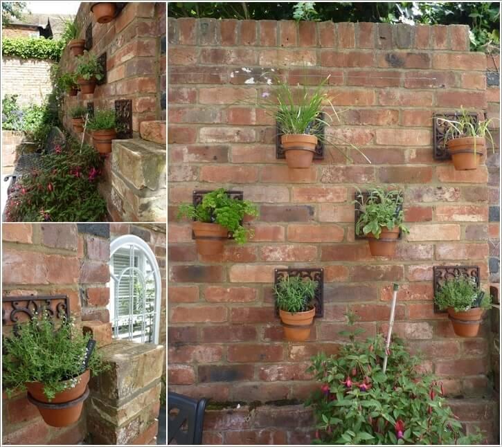13 Amazing Outdoor Terracotta Pot Display Ideas