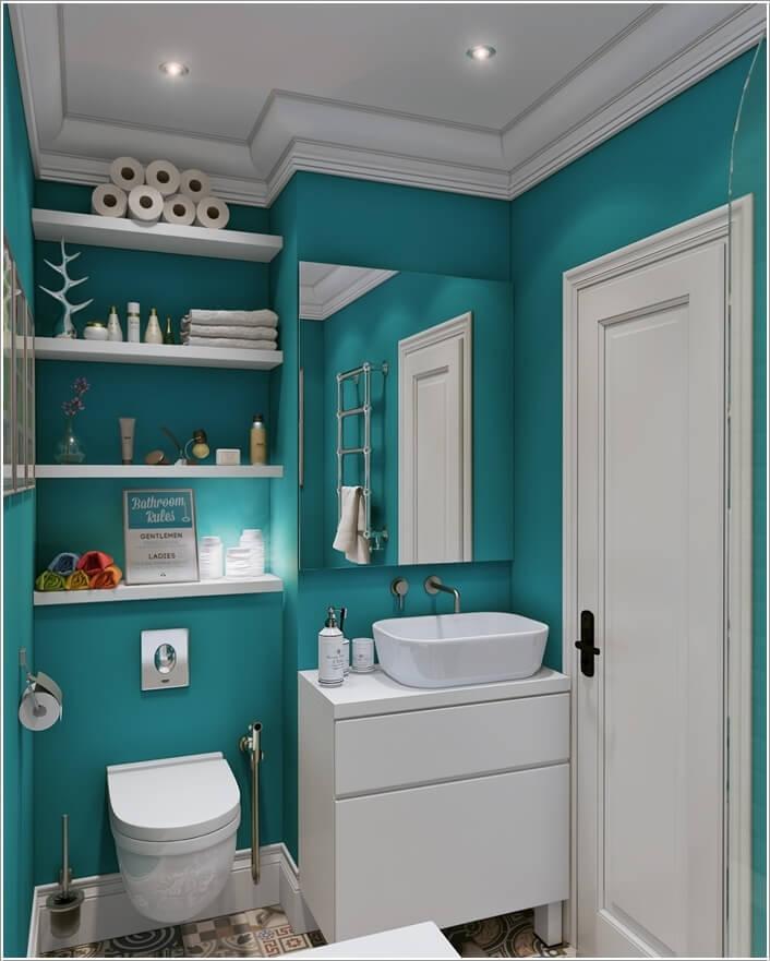 رنگ سرویس بهداشتی