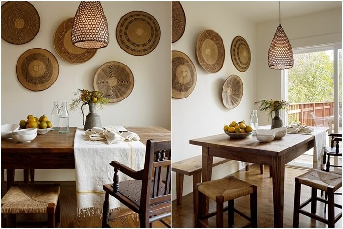 13 cool ideas to decorate your dining room wall for Houzz dining room wall art