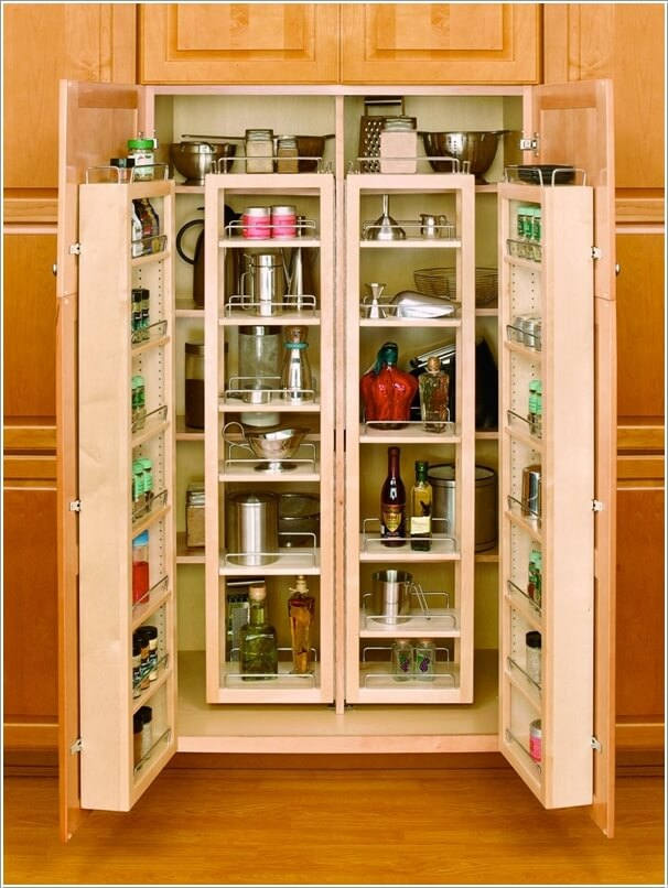 2  13 Cool Ideas to Store More in Your Pantry 2