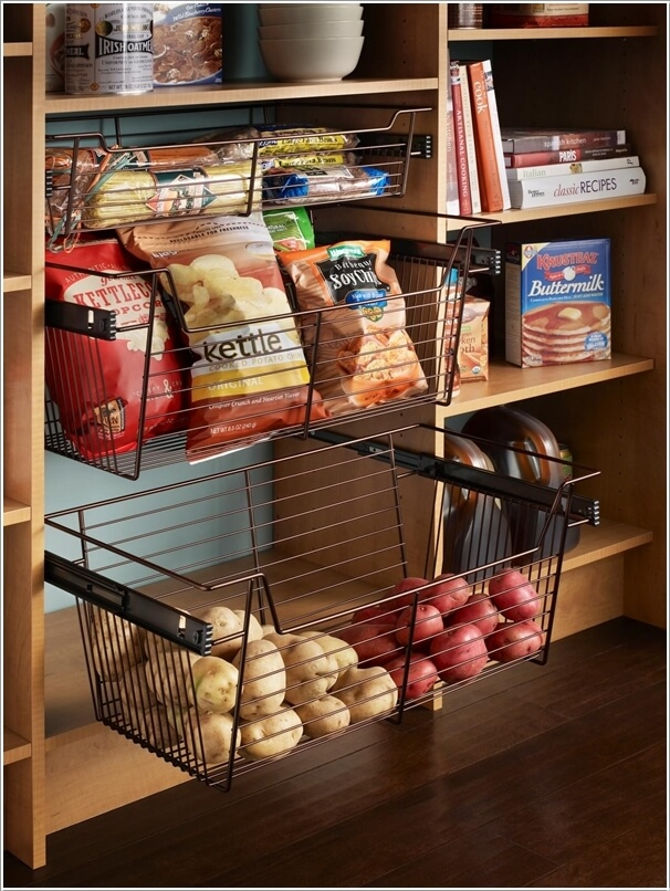 3  13 Cool Ideas to Store More in Your Pantry 31