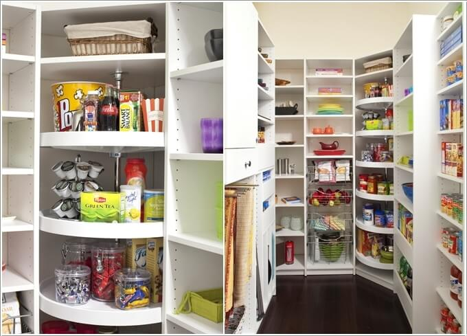 4  13 Cool Ideas to Store More in Your Pantry 418